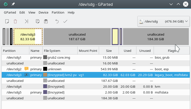 resize LUKS partition | Linux-Blog – Dr  Mönchmeyer
